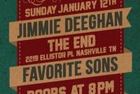 Jimmie Deeghan - Show Flyer