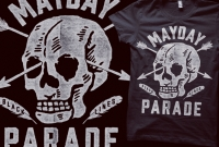 Mayday Parade - Skull Feather