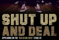 Shut Up & Deal - Warped Tour Poster